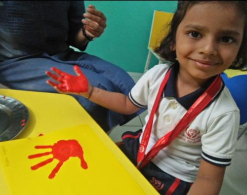 Palm Painting Activity
